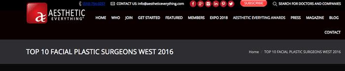 Aesthetic Everything® Awards