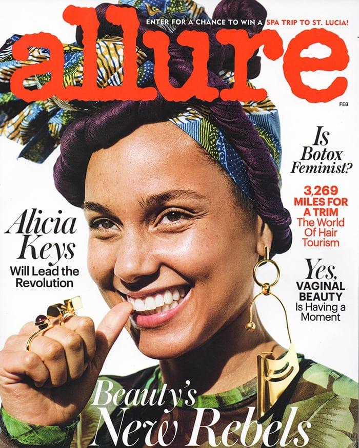 Allure magazine cover