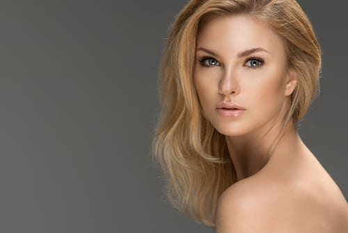 Natural Glamorous Blonde Woman