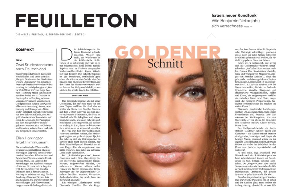 Feuilleton News article