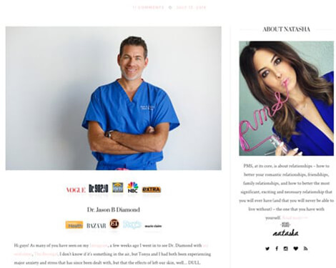 PMS blog article