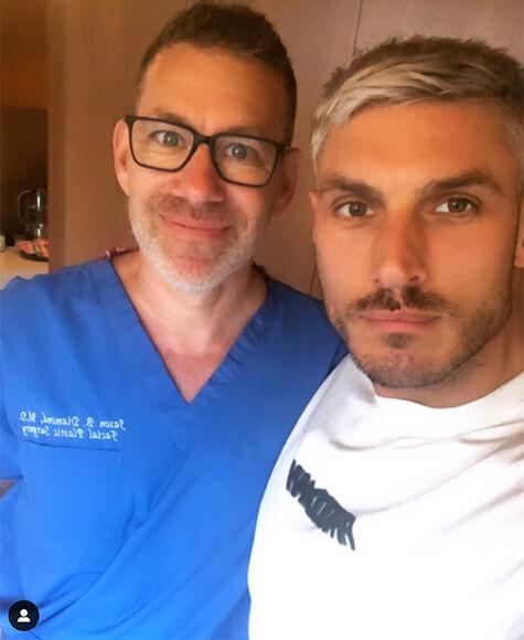 Chris Appleton with Dr. Diamond