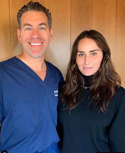 Mimi Cuttrell with Dr. Diamond