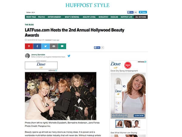 Huffpost style article
