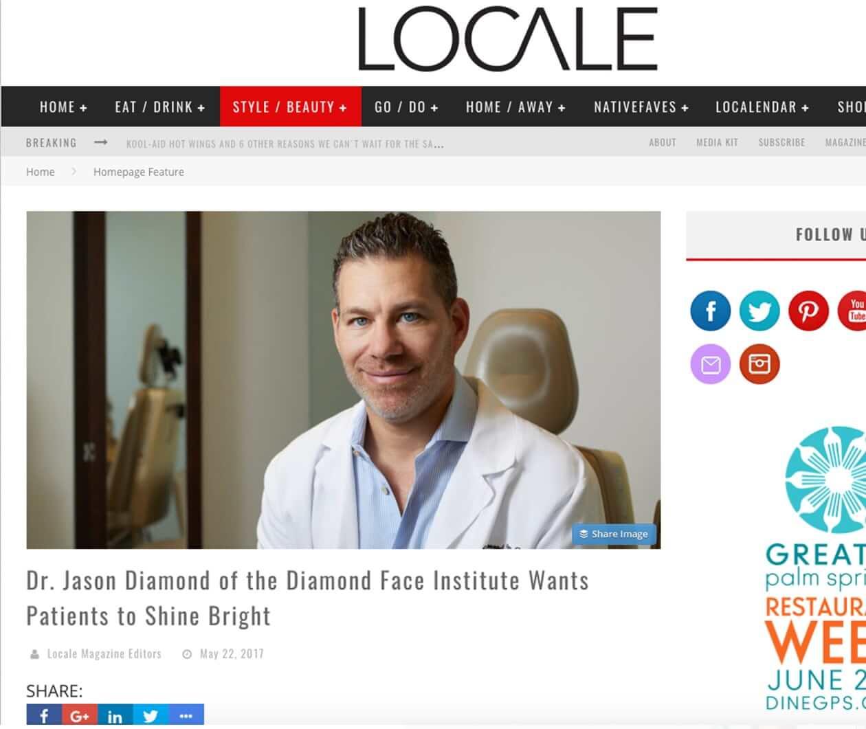 Locale Article