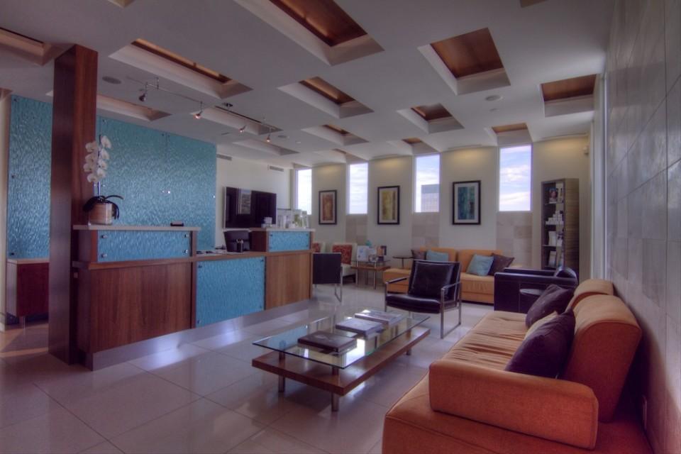 The Diamond Face Institute Waiting Area