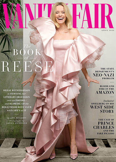 Vanity Fair Magazine Cover with Reese Witherspoon