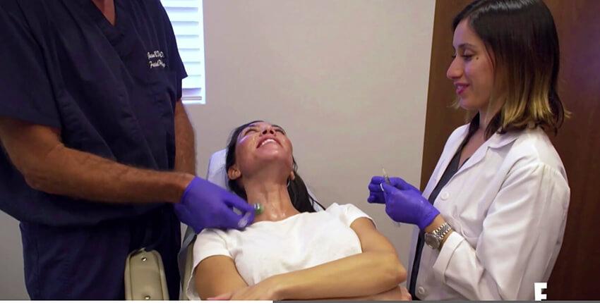 kourtney-facial-treatment