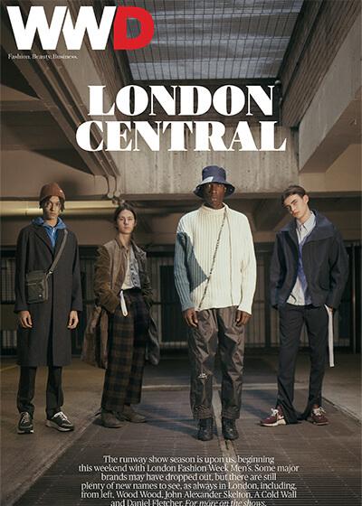 WWD London Cover