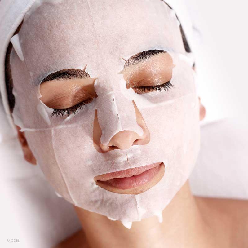 Step 4: Collagen Mask