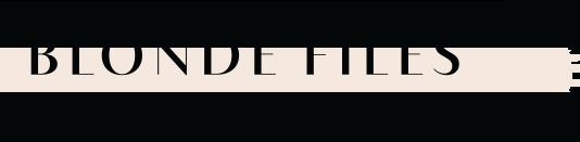 the Blonde Files Logo